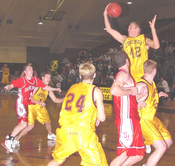 2003-04 Concordia Men's Basketball Action Pictures